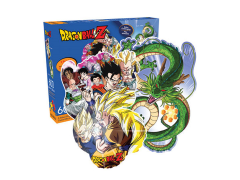 Dragon Ball Z Collage and Dragon Shape 600-Piece Puzzle