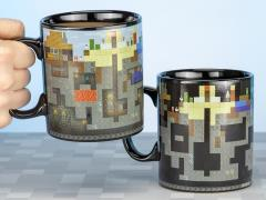 Minecraft Heat Change Large Mug