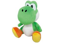 """Super Mario Green Yoshi 8"""" Plush"""