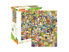 Nickelodeon Cast 3000-Piece Puzzle