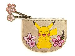 Pokemon Pikachu & Eevee Floral Cardholder
