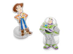 Toy Story Woody & Buzz Lightyear Cufflinks