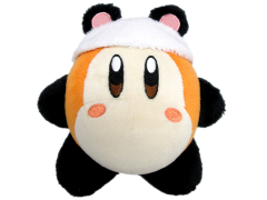 "Kirby Waddle Dee Panda 6"" Plush"