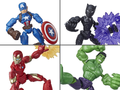 Marvel Avengers Bend and Flex Set of 4 Figures