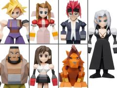 Final Fantasy VII Box of 8 Polygon Figures