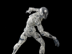 TOA Heavy Industries Synthetic Human (Clear Ver.) 1/6 Scale PX Previews Exclusive Figure
