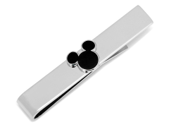 Disney Mickey Mouse Black Tie Bar