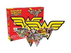 DC Comics Wonder Woman Collage and Logo 600-Piece Puzzle