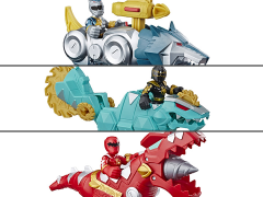 Power Rangers Heroes Ranger & Zord Set of 3 Two-Packs
