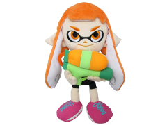 "Splatoon Inkling Girl Orange 9"" Plush"
