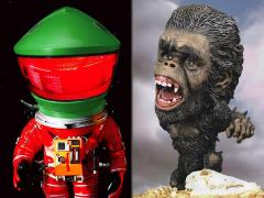 2001: A Space Odyssey Deform Real Discovery Astronaut (Rescue Suit) & The Man-Ape Two-Pack