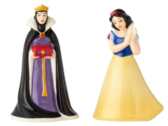 Snow White and the Seven Dwarfs Evil Queen & Snow White Salt & Pepper Shaker Set