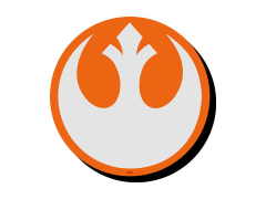 Star Wars Rebel Symbol Funky Chunky Magnet