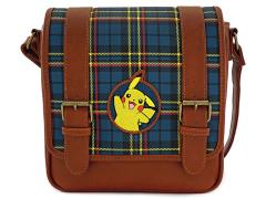 Pokemon Pikachu Plaid Crossbody Bag