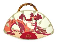 Mulan Bamboo Fan Handbag