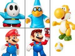 "World of Nintendo 4"" Wave 19 Set of 5 Figures"