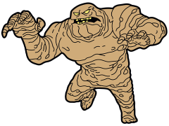 Batman: The Animated Series Clayface Mega-Mega Magnet