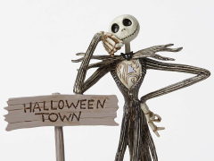 The Nightmare Before Christmas Disney Traditions Jack Skellington By Halloween Town Sign