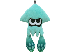 "Splatoon Turquoise Inkling Squid 9"" Plush"
