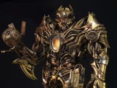 Transformers: Age of Extinction Museum Masterline Galvatron Statue (Gold Ver.)
