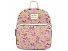 Pokemon Pikachu & Eevee Floral Convertible Mini Backpack