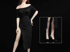 Women's Dress Suit 2.0 (Black) 1/6 Scale Accessory Set