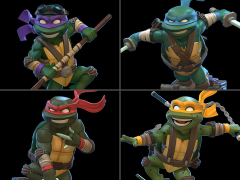 TMNT Q-Fig Set of 4 Figures