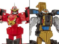 Power Rangers Beast Morphers Beast Zords Set of 2 Triple Converting Figures