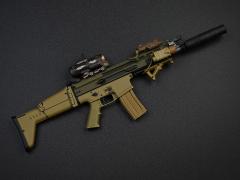 Elite Combat Unit Gear Part I Ranger Firearm Pack A (06022A) 1/6 Scale Weapon Set