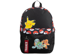 Pokemon Multi Character Color Block Backpack