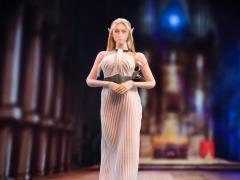 Cocktail Dress (White) 1/6 Scale Accessory Set