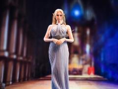 Cocktail Dress (Grey) 1/6 Scale Accessory Set