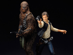 Star Wars ArtFX+ Han Solo & Chewbacca Statue Two Pack (A New Hope)