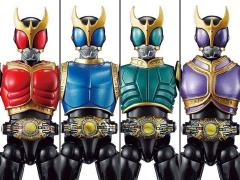 Kamen Rider So-Do Chronicle Kamen Rider Kuuga Golden Power Exclusive Box of 4 Figures