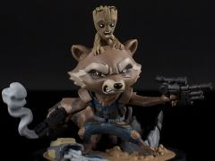 Guardians of the Galaxy Vol. 2 Q-Fig Rocket & Groot Diorama