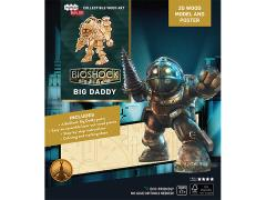 BioShock IncrediBuilds Big Daddy Poster & 3D Wood Model
