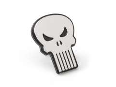 Marvel The Punisher Silver Lapel Pin