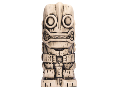 Iron Giant Ceramic Tiki Mug (Bone)