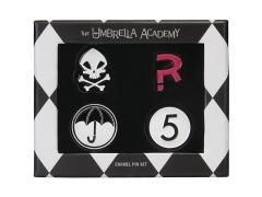 The Umbrella Academy Enamel Pin Set