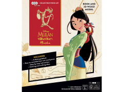 Mulan IncrediBuilds Mushu Book & 3D Wood Model