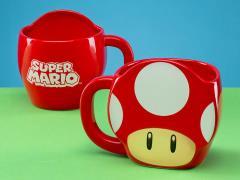 Super Mario Bros. Mushroom Shaped Mug