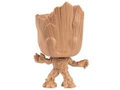 Pop! Marvel: Guardians of the Galaxy Groot (Wood Deco) Exclusive