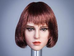 Female Head Sculpt (Short Bob) 1/6 Scale Accessory