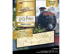 Harry Potter IncrediBuilds Hogwarts Express Book & 3D Wood Model