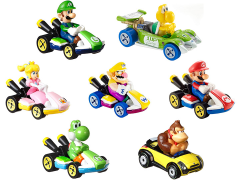 Mario Kart Hot Wheels Sets of 7 Cars