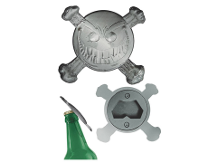Smiley the Psychotic Button Bottle Opener