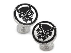Marvel Black Panther Mask Cufflinks
