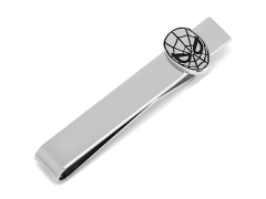 Marvel Spider-Man Silver Tie Bar
