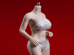 Super-Flexible Female Seamless 1/6 Scale Pale Large Bust Body (S38A)