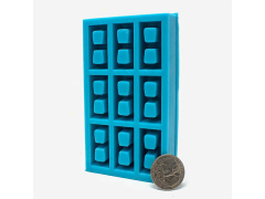 Mini Materials 1/12 Scale Mini Cinder Block Mold (9 Piece)
